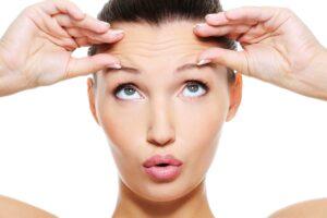 toxina botulínica en la cara